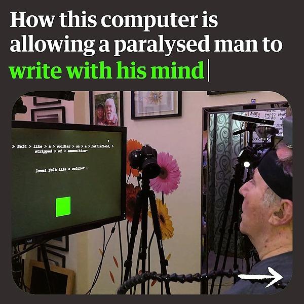 @guardian Paralysed man uses 'mindwriting' brain computer to compose sentences Link Thumbnail | Linktree