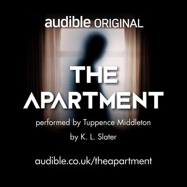 Audible UK The Apartment - K.L Slater Link Thumbnail | Linktree