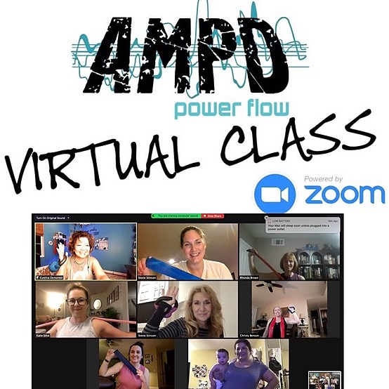 Tuesday (6:30 pm PST) Virtual AMPD Power Flow  FREE CLASS