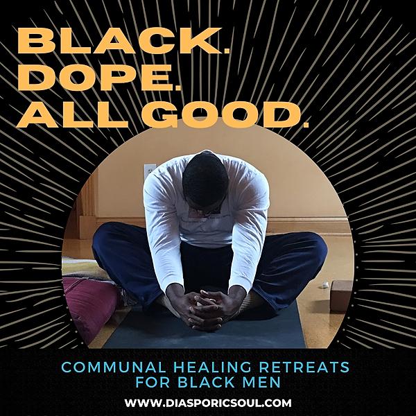 @diasporicsoul Black. Dope. All Good. Communal Healing Retreats for Black Men (Cincinnati) Link Thumbnail   Linktree
