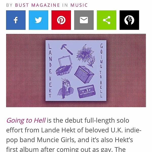 Lande Hekt bust magazine review Link Thumbnail | Linktree