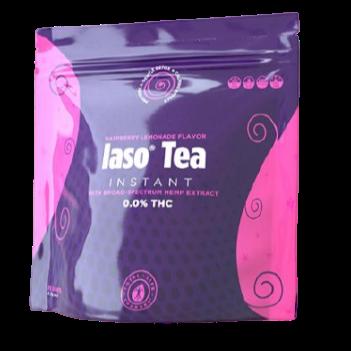 RASPBERRY - INSTANT TEA WITH BROAD-SPECTRUM HEMP EXTRACT - 25 SACHETS