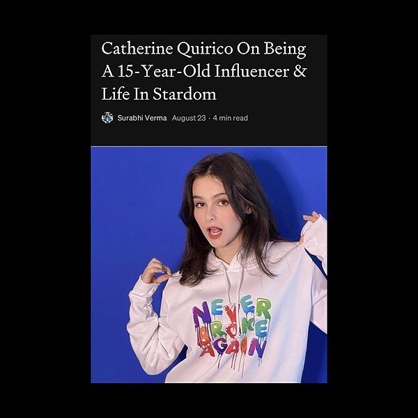 @catherinequirico 🤩 Press:  medium magazine Link Thumbnail   Linktree