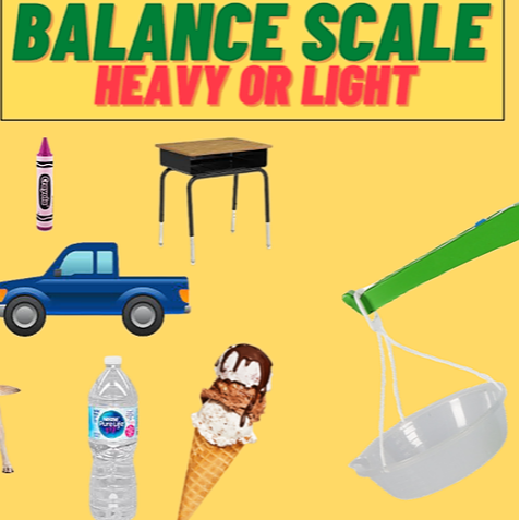 Balance Scale Worksheet