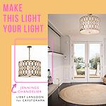 Shop The Libby Langdon Crystorama Lighting Collection