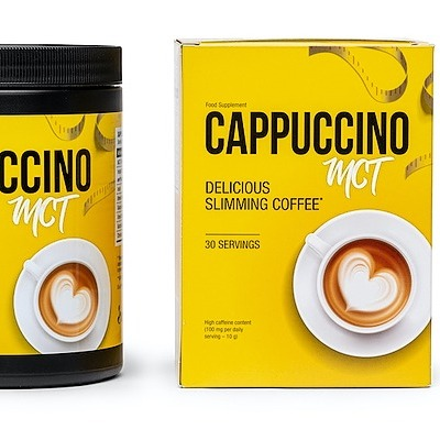 @Karin8 Cappuccino MCT is a coffee with slimming properties. It is so-called bulletproof coffee Link Thumbnail | Linktree