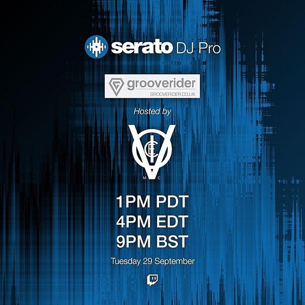 Serato Livestream - 29 9 20 - Grooverider & VoicemC
