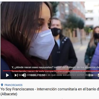 "@YoSoyFranciscanos Video ""Yo Soy Franciscanos"", Canal de YouTube ""Participa TV Albacete, marzo 2021 Link Thumbnail   Linktree"