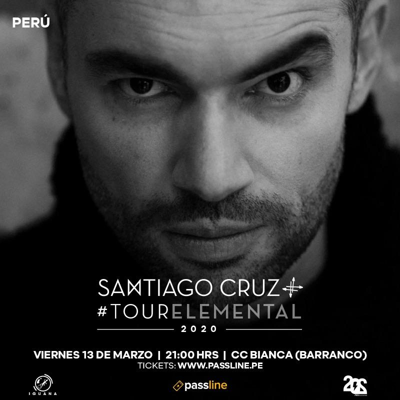 Tour Elemental_Santiago Cruz_Perú