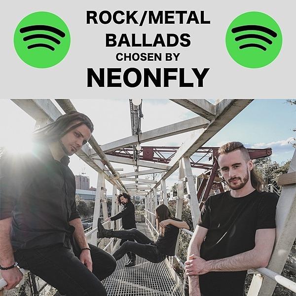 NEONFLY ROCK/METAL BALLADS SPOTIFY PLAYLIST Link Thumbnail | Linktree
