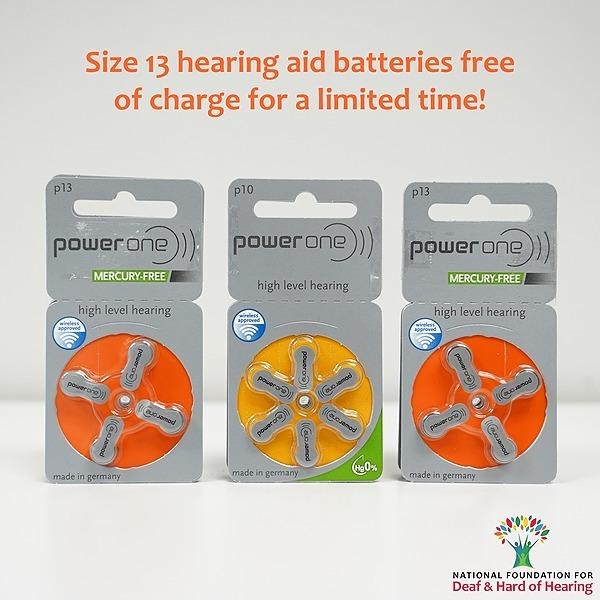 @nationalfoundationfordeaf Hearing Aid Batteries Link Thumbnail   Linktree
