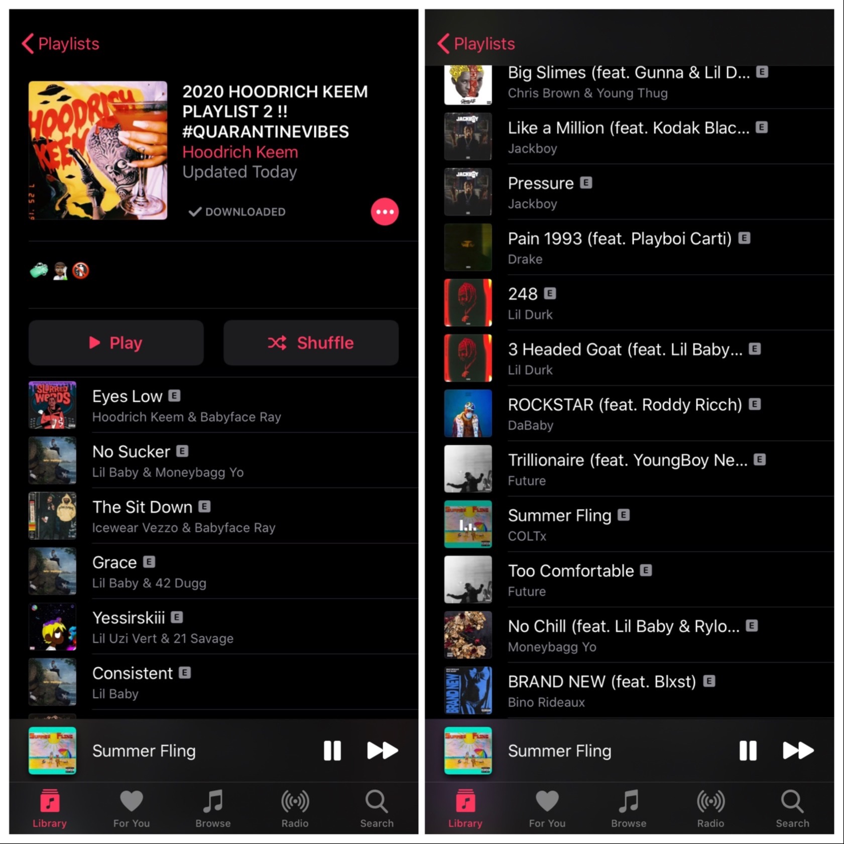 @COLTx Hoodrich Keem 2020 Playlist Link Thumbnail | Linktree