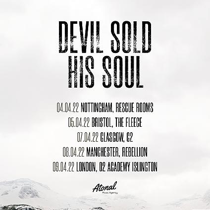 Devil Sold His Soul Glasgow - 07/04/22 Link Thumbnail | Linktree
