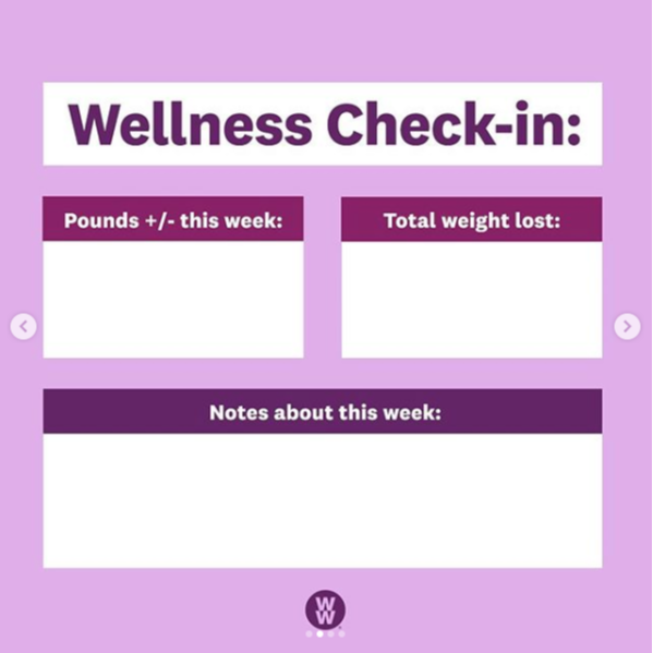 Wellness Check-in Template
