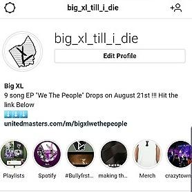 @BigXL Instagram  Link Thumbnail   Linktree