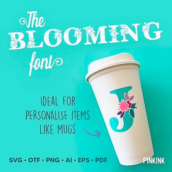 The Blooming Font