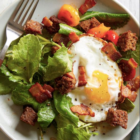 WW BLT-and-Egg Breakfast Salad Recipe