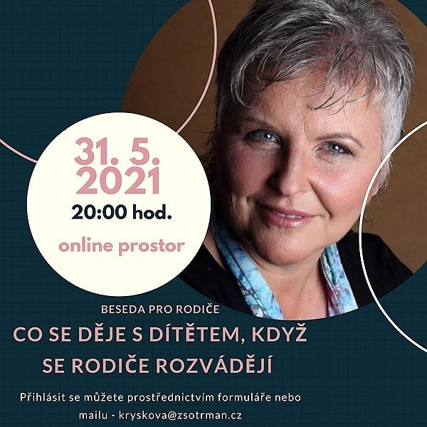 @Maneska Beseda pro rodiče - 31. 5. 2021 - Mgr. Milena Mikulková - Emoční bezpečí aneb Jak to zvládnout Link Thumbnail | Linktree