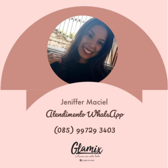@glamixmodasite Venda Whatsapp Jennifer Maciel Link Thumbnail | Linktree
