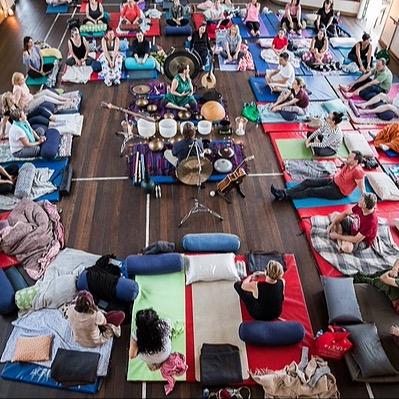 Karen@yogagarage Therapeutic Southbath with Shanti Sound Link Thumbnail | Linktree