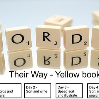 @RebeccaAllgeier Words Their Way - Yellow Book - sorts 1-5 Link Thumbnail | Linktree