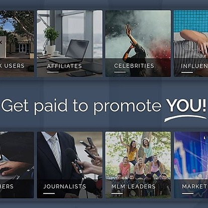 Get Paid to Promote YOU!