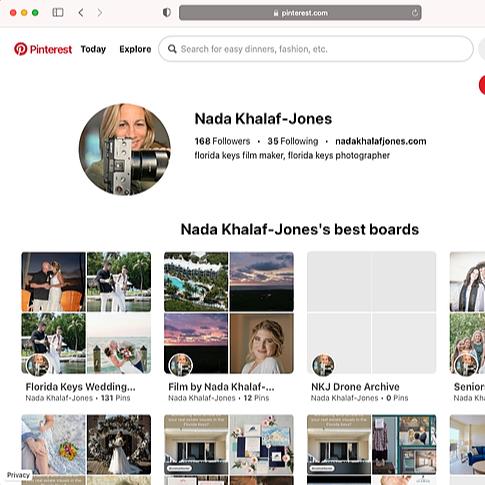 Nada Khalaf Jones Photography Pinterest Link Thumbnail | Linktree