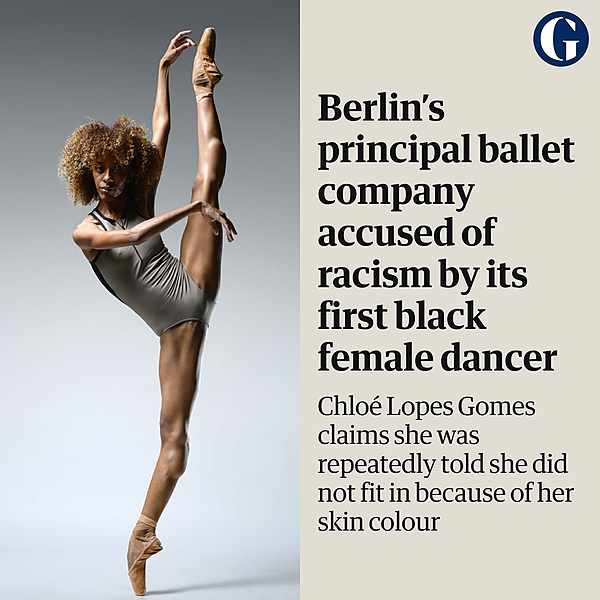 Berlin's principal ballet company accused of racism by its first black female dancer