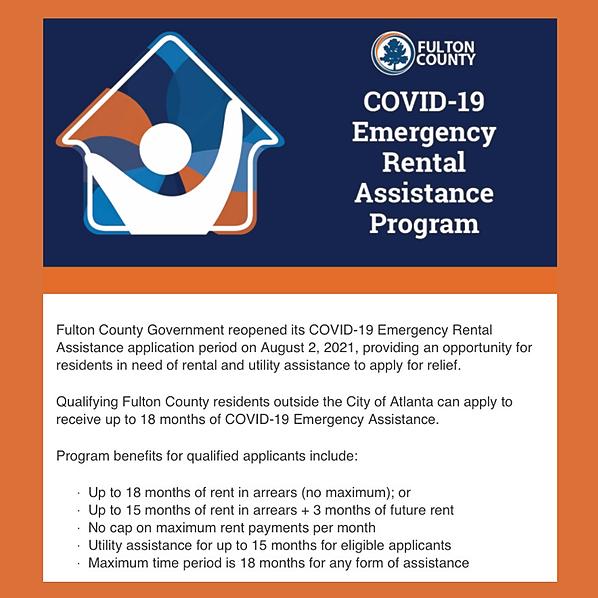 Fulton County Sheriff COVID-19 Emergency Rental Assistance Program Link Thumbnail   Linktree