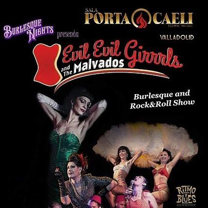 Evil Eva Burlesque Evil, evil Girrrls & The Malvados en Valladolid, Sala Porta Caelli Link Thumbnail | Linktree