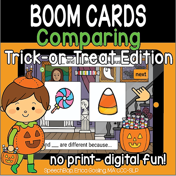 Halloween Compare and Constrast