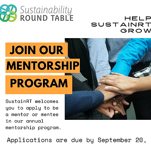 @alasustainrt Join the SustainRT Mentorship Program Link Thumbnail   Linktree