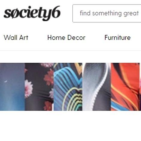 @DavidLouisKlein Society 6 Art Prints and Products Link Thumbnail | Linktree