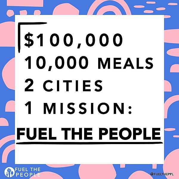 GoFundMe: 10,000 Meals! We Got Us. We Keep Us Safe.