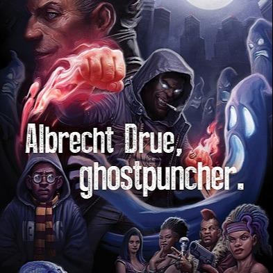 "@pdmtheauthor ""Albrecht Drue, ghostpuncher."" at Amazon Link Thumbnail | Linktree"