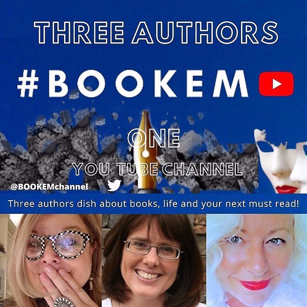 #BOOKEM (Three fabulous authors, one channel @YouTube!) Subscribe to book chats, writer's life and enjoy a new way to celebrate all things story!