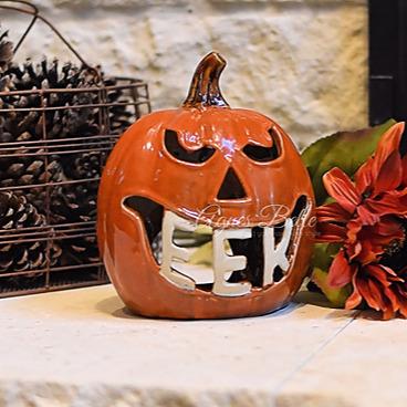 Agnes Belle Eek Pumpkin Lantern Link Thumbnail | Linktree