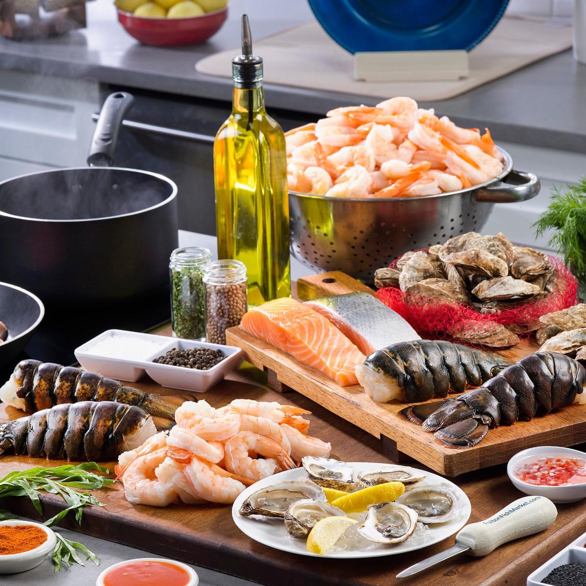 Shop Seafood Party Boxes
