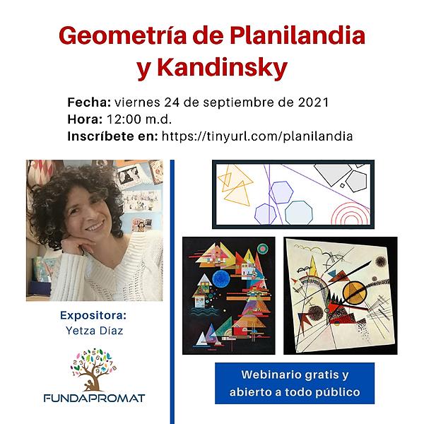 @jshakall Webinario sobre Geometría de Planilandia y Kandinsky Link Thumbnail   Linktree
