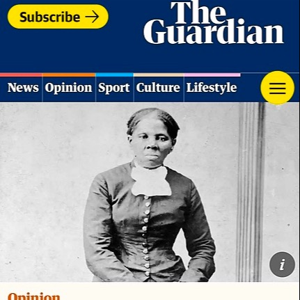 Guardian: Harriet Tubman on the $20 bill papers over racism