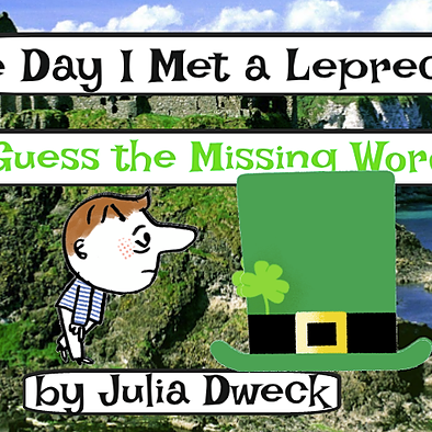The Day I Met a Leprechaun *ELA Brain Teaser