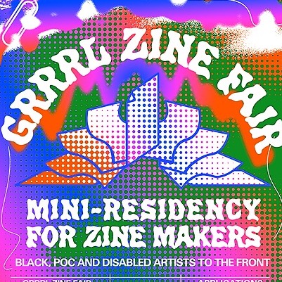 Mini zine residency application