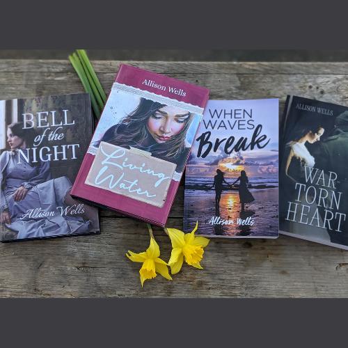 Author & Writer Allison Wells Amazon Author Page & Buy Links Link Thumbnail | Linktree