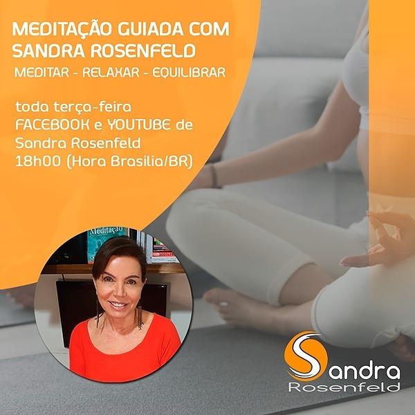 Sandra Rosenfeld Face Meditação Guiada com Sandra Link Thumbnail | Linktree