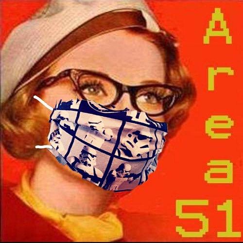 Area 51 Handmade Masks