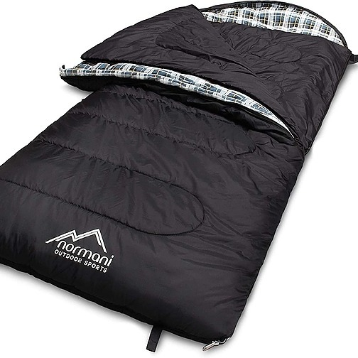 normani 4-in-1-Funktion Extrem Outdoor Schlafsack 'Antarctica' (Affiliate Link)