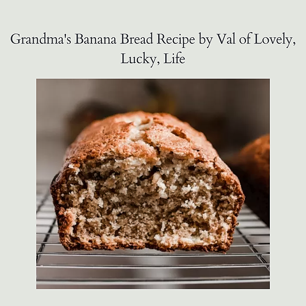 Keidel Bosch's Banana Bread Recipe Link Thumbnail | Linktree