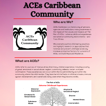 ACEs Caribbean Community ACEs Infographic Link Thumbnail | Linktree