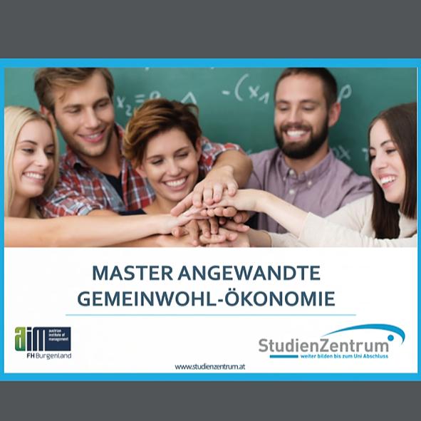 Masterlehrgang Angewandte Gemeinwohl-Ökonomie - ab sofort bis Ende Juni anmelden, Stipendienvergabe möglich