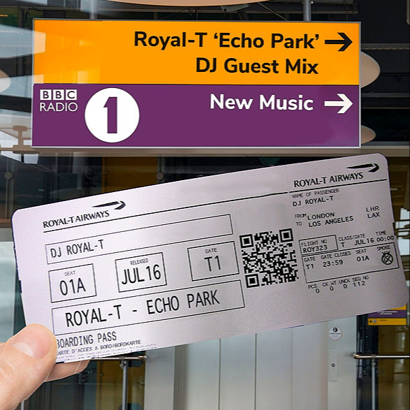 Royal-T Radio 1 Guest Mix Link Thumbnail | Linktree